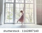 young classical ballet dancer... | Shutterstock . vector #1162887160
