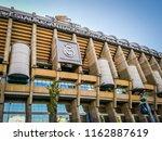 madrid  spain  08 21 2018  the... | Shutterstock . vector #1162887619