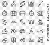 set of 25 transparent icons... | Shutterstock .eps vector #1162891756