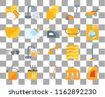set of 20 transparent icons... | Shutterstock .eps vector #1162892230