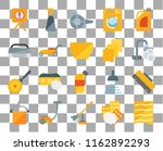 set of 20 transparent icons... | Shutterstock .eps vector #1162892293