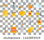 set of 20 transparent icons... | Shutterstock .eps vector #1162892419