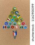 saint louis  united states  ... | Shutterstock . vector #1162900399