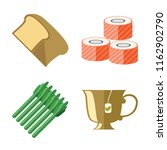 set of 4 vector icons such as... | Shutterstock .eps vector #1162902790