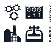 set of 4 vector icons such as... | Shutterstock .eps vector #1162902829