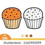 coloring book for children ... | Shutterstock .eps vector #1162903399