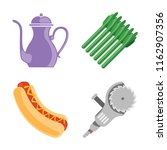 set of 4 vector icons such as... | Shutterstock .eps vector #1162907356