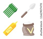 set of 4 vector icons such as... | Shutterstock .eps vector #1162907470