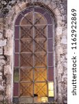 Rusty Metal Structure Of Window ...