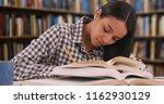 hardworking latina student... | Shutterstock . vector #1162930129