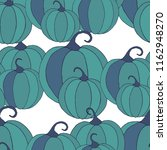 halloween background with... | Shutterstock .eps vector #1162948270