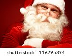 Photo Of Happy Santa Claus In...