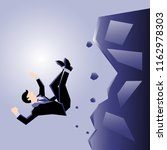business illustration of a... | Shutterstock .eps vector #1162978303