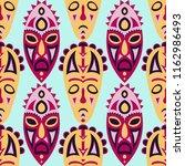 seamless background. african... | Shutterstock .eps vector #1162986493