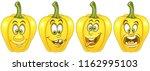 pepper. vegetable food concept. ... | Shutterstock .eps vector #1162995103