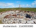 ballowall barrow  ancient site... | Shutterstock . vector #1163003080