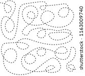 dash  stroke  line  stripe ...   Shutterstock .eps vector #1163009740
