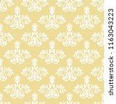 classic seamless vector pattern.... | Shutterstock .eps vector #1163043223