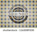 genuine product arabesque... | Shutterstock .eps vector #1163089330