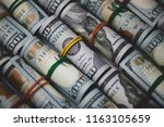 Rolled American Dollars...