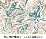 marble ink texture vector... | Shutterstock .eps vector #1163106073