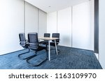 conference room tables and... | Shutterstock . vector #1163109970
