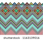 embroidered good like old... | Shutterstock .eps vector #1163139016