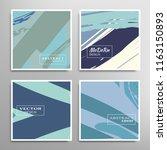 creative artistic backgrounds... | Shutterstock .eps vector #1163150893