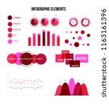infographic elements  creative... | Shutterstock .eps vector #1163161396