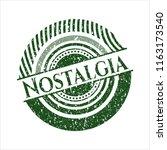 green nostalgia distress rubber ... | Shutterstock .eps vector #1163173540