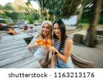 motion blur drunk effect. party ... | Shutterstock . vector #1163213176