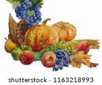 Cornucopia. Autumn Harvest...