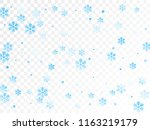 crystal snowflake and circle... | Shutterstock .eps vector #1163219179