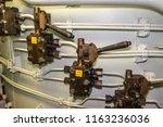cherbourg octeville  france  ... | Shutterstock . vector #1163236036