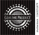 genuine product silver badge | Shutterstock .eps vector #1163251879