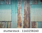 zinc corrosion  abstract... | Shutterstock . vector #1163258260