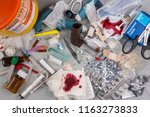york.uk.08.15. hazardous... | Shutterstock . vector #1163273833