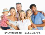multi generation family... | Shutterstock . vector #116328796
