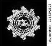 ambulance icon drawn on... | Shutterstock .eps vector #1163292823