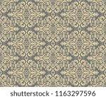 orient classic golden pattern.... | Shutterstock . vector #1163297596