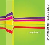 vector abstract green business... | Shutterstock .eps vector #116331310