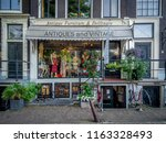 amsterdam  netherlands   july... | Shutterstock . vector #1163328493