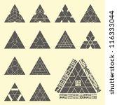 abstract vector elements. | Shutterstock .eps vector #116333044