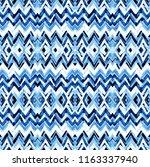geometrical watercolor texture...   Shutterstock . vector #1163337940