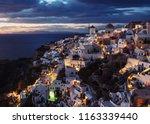 beautiful travel destination... | Shutterstock . vector #1163339440