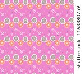 fruit seamless pattern with...   Shutterstock .eps vector #1163380759