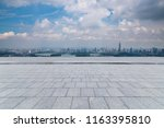 panoramic skyline and buildings ... | Shutterstock . vector #1163395810