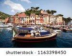 portofino  italy   june 30 2012 ... | Shutterstock . vector #1163398450