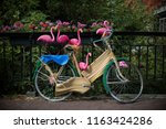 bicycle in dutch streets | Shutterstock . vector #1163424286