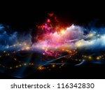 Arrangement Of Clouds Of...